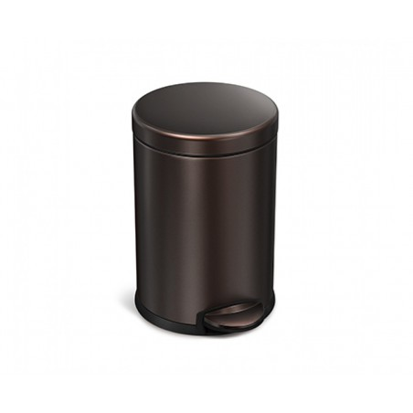 Balde p/ lixo dark bronze SIMPLEHUMAN CW2040