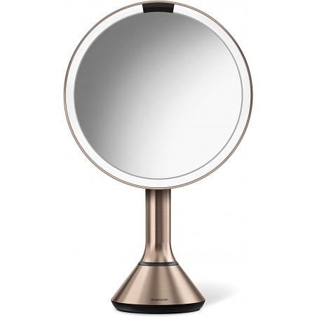 Espelho c/ touch control rose gold SIMPLEHUMAN ST3027